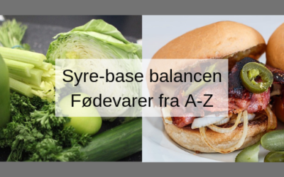 Syre-base balancen fra PH3-10